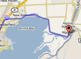 Algonac Michigan Map.Algonac Municipal Ramp